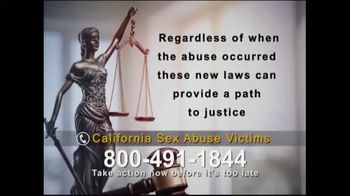 Knightline Legal TV Spot, 'California Sex Abuse Victims' - Thumbnail 7