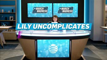 AT&T Wireless TV Spot, 'Lily Uncomplicates: Full Court Press' - Thumbnail 2