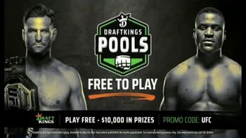 DraftKings Pools TV Spot, 'UFC 260: Enter the $10,000 Pool for Free' - 6 commercial airings