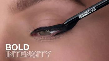 Maybelline New York Tattoo Studio Gel Pencil TV Spot, 'Bold Intensity' - Thumbnail 4
