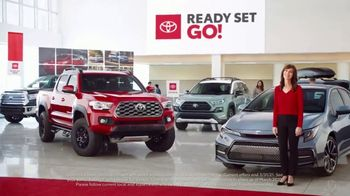 Toyota Ready Set Go! TV Spot, 'Imagine: Enough' [T2] - 9 commercial airings