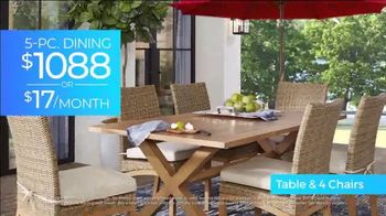 Rooms to Go 30th Patio Anniversary Sale TV Spot, 'Made in the Shade: Ends Wednesday' Song by Junior Senior - Thumbnail 3