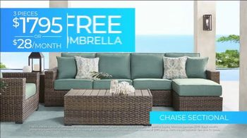 Rooms to Go 30th Patio Anniversary Sale TV Spot, 'Made in the Shade: Ends Wednesday' Song by Junior Senior - Thumbnail 4