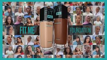Maybelline New York Fit Me! Foundation TV Spot, 'Find Your Fit' - Thumbnail 3