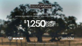 Ram Trucks Truck Month TV Spot, 'I'm a Ram: Provider' Song by Chris Stapleton [T2] - Thumbnail 9