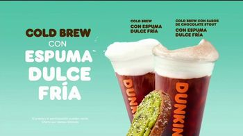 Dunkin' Cold Brew With Sweet Cold Foam TV Spot, 'El Cold Brew perfecto: dulce fría' [Spanish] - Thumbnail 5