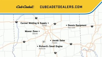 Cub Cadet TV Spot, 'Locally Owned Dealers: $300 off Zero-Turns' - Thumbnail 10