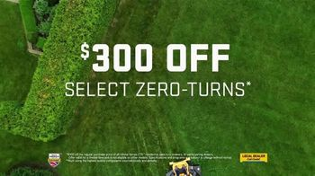 Cub Cadet TV Spot, 'Locally Owned Dealers: $300 off Zero-Turns' - Thumbnail 8