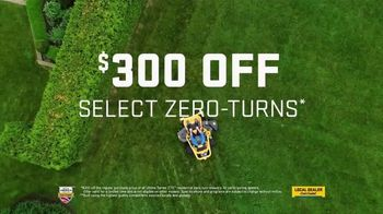 Cub Cadet TV Spot, 'Locally Owned Dealers: $300 off Zero-Turns' - Thumbnail 9