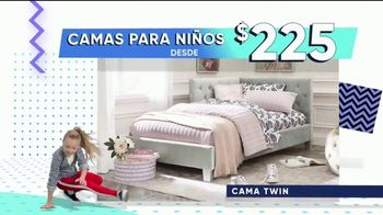 Rooms to Go Venta del 30 Aniversario TV Spot, 'Ahorrar en camas' [Spanish] - Thumbnail 3