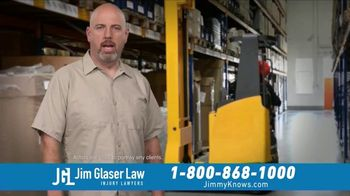 Jim Glaser Law TV Spot, 'Workers Comp: $250,000' - Thumbnail 1