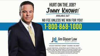 Jim Glaser Law TV Spot, 'Workers Comp: $250,000' - Thumbnail 9
