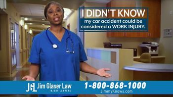 Jim Glaser Law TV Spot, 'Workers Comp: $250,000' - Thumbnail 5