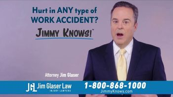 Jim Glaser Law TV Spot, 'Workers Comp: $250,000' - Thumbnail 6