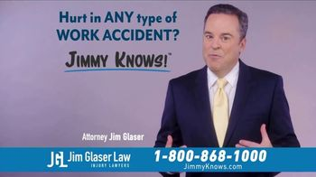 Jim Glaser Law TV Spot, 'Workers Comp: $250,000' - Thumbnail 8