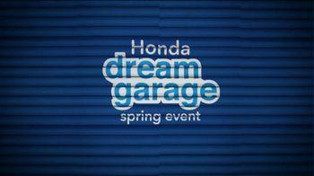 Honda Dream Garage Spring Event TV Spot, 'Put an HR-V In Your Garage' [T2] - Thumbnail 6