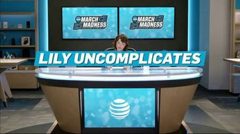 AT&T Wireless TV Spot, 'Lily Uncomplicates: Flopping' - 2 commercial airings