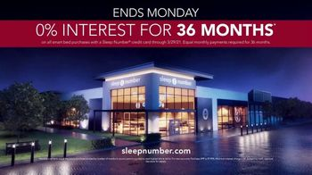 Sleep Number Weekend Special TV Spot, 'Introducing: 0% Interest for 36 Months' - Thumbnail 8