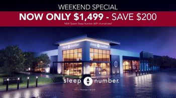 Sleep Number Weekend Special TV Spot, 'Introducing: 0% Interest for 36 Months'