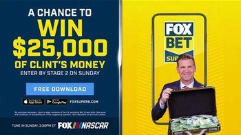 FOX Bet TV Spot, 'NASCAR: Win $25,000 of Clint's Money' - Thumbnail 9