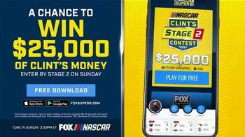 FOX Bet TV Spot, 'NASCAR: Win $25,000 of Clint's Money' - Thumbnail 5