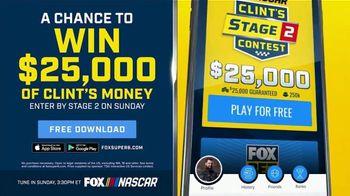 FOX Bet TV Spot, 'NASCAR: Win $25,000 of Clint's Money' - Thumbnail 6