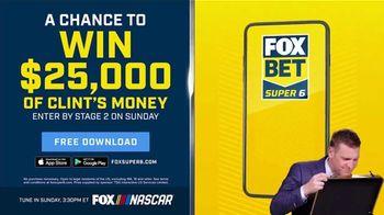 FOX Bet TV Spot, 'NASCAR: Win $25,000 of Clint's Money' - Thumbnail 7