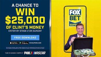 FOX Bet TV Spot, 'NASCAR: Win $25,000 of Clint's Money' - Thumbnail 8