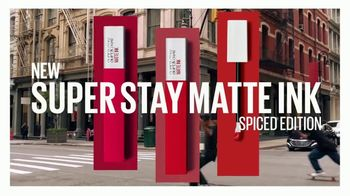 Maybelline New York SuperStay Matte Ink Spiced Edition TV Spot, 'Bring the Heat' - Thumbnail 8