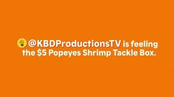 Popeyes $5 Shrimp Tackle Box TV Spot, '@KBDProductionsTV' - Thumbnail 1