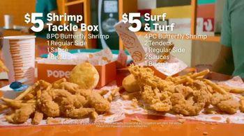 Popeyes $5 Shrimp Tackle Box TV Spot, '@KBDProductionsTV' - Thumbnail 5