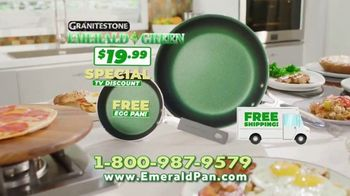 Granite Stone Emerald Green TV Spot, 'Nothing Sticks: $19.99'