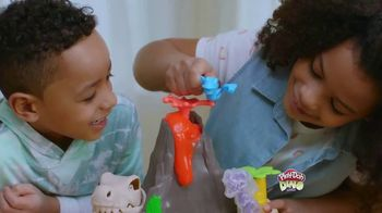 Play-Doh Slime Dino Crew Lava Bones Island Volcano TV Spot, 'Exciting Eruption'