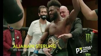 P3 Portable Protein Packs TV Spot, 'UFC: No Brainer' Featuring Aljamain Sterling