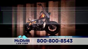 McDivitt Law Firm, P.C. TV Spot, 'Orange County Choppers Sweepstakes'