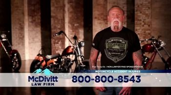 McDivitt Law Firm, P.C. TV Spot, 'Orange County Choppers Sweepstakes' - Thumbnail 1