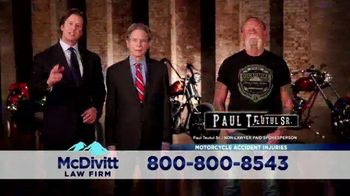 McDivitt Law Firm, P.C. TV Spot, 'Orange County Choppers Sweepstakes' - Thumbnail 4