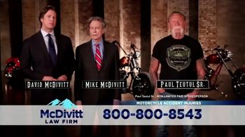 McDivitt Law Firm, P.C. TV Spot, 'Orange County Choppers Sweepstakes' - Thumbnail 5