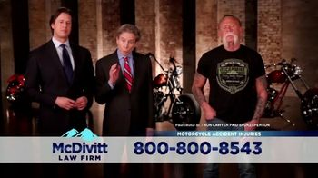 McDivitt Law Firm, P.C. TV Spot, 'Orange County Choppers Sweepstakes' - Thumbnail 7