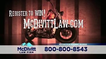 McDivitt Law Firm, P.C. TV Spot, 'Orange County Choppers Sweepstakes' - Thumbnail 8