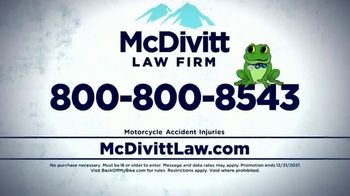 McDivitt Law Firm, P.C. TV Spot, 'Orange County Choppers Sweepstakes' - Thumbnail 9