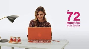 Ashley HomeStore Black Friday in July TV Spot, 'Doorbusters: 72 Months Financing' - Thumbnail 5