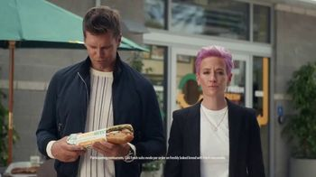 Subway TV Spot, 'It's Too Much for One Spokesperson: Part 3' Feat. Serena Williams, Megan Rapinoe, Stephen Curry - Thumbnail 9