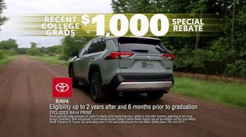 Toyota Driven to Be the Best Event TV Spot, 'Best Deals: College Grad Rebate' [T2] - Thumbnail 4