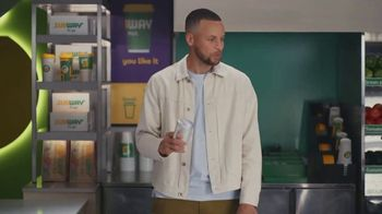 Subway TV Spot, 'It's Too Much for One Spokesperson' Featuring Stephen Curry - Thumbnail 9
