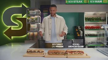 Subway TV Spot, 'It's Too Much for One Spokesperson' Featuring Stephen Curry - Thumbnail 5