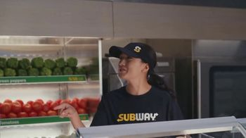 Subway TV Spot, 'It's Too Much for One Spokesperson' Featuring Stephen Curry - Thumbnail 6