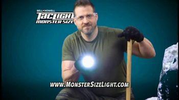 Tac Light Monster Size Light TV Spot, '5x Brighter'