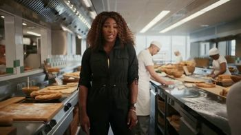 Subway TV Spot, 'It's Too Much for One Spokesperson, Part Two' Featuring Stephen Curry, Serena Williams
