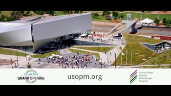United States Olympic and Paralympic Museum TV Spot, 'Grand Opening' - Thumbnail 10